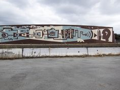 The Systems Mural Project by Brian Barneclo, The Largest Mural in San Francisco Measures 600 Feet Long