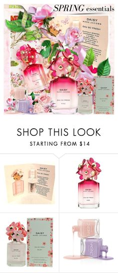 """🌺🌸🌼🌻Sping Perfume ~ Marc Jacobs Daisy Eau So Fresh Kiss Edition🌺🌸🌼🌻"" by lucky-ruby ❤ liked on Polyvore featuring beauty, Marc Jacobs, Pink and springperfume"