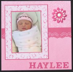 Our newest granddaughter - Scrapbook.com