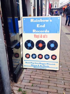 Fun record store in Haarlem, NL