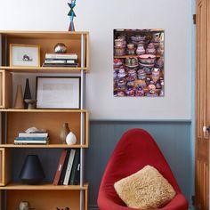 Talavera Pottery, El Parian Market, Puebla, Historic Center, Puebla State, Mexico, North America Print Wall Art By Wendy Connett - Walmart.com - Walmart.com Design Food, Talavera Pottery, Victoria, Fancy, Framed Artwork, Wolf Artwork, Home Accessories, Canvas Wall Art, Giclee Print