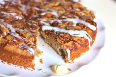 Gluten Free Apple Spice Coffee Cake (Paleo, Vegetarian)