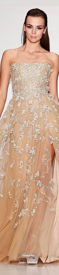 Tony Ward Haute Couture by Atelier Crocus Collection Spring Summer 2014