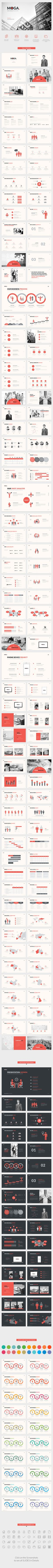 MOGA. - Small Business Presentation PowerPoint Template