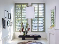 Providing beautiful natural light, ventilation, protection and privacy, the Piet Boon by Zonnelux shutters are as much functional as they are a contemporary stylish addition to any home interior.
