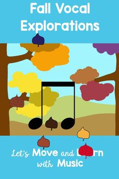 Fall Music class Vocal Explorations to practice high and low. Now Animated! Students follow the path of the apples to experiment with their voices. Perfect for preschool through 3rd grade. Kindergarten Music Lessons, Preschool Music Activities, Elementary Music Lessons, Teaching Music, Movement Preschool, Elementary Choir, Music Education Activities, Music Classroom, Experiment