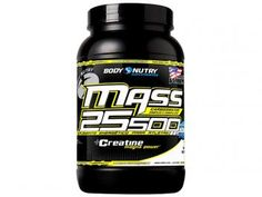 Hipercalórico/Massa Mass 25500 + Creatine Magna - 1,5kg Baunilha - Body Nutry