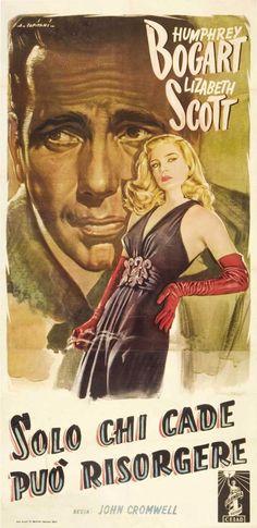 Bogart and Scott in Dead Reckoning (1947)