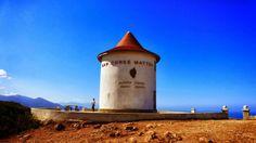 Le Moulin Mattei, symbole du Cap Corse, joyau du petit village de Centuri.  Photo de Didier Faure. Cap Corse, Le Moulin, Faure, Photos, Tower, Island, World, Monaco, Outdoor Decor