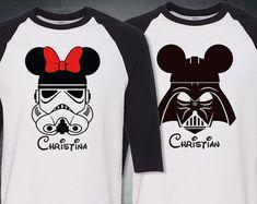 1 Disney Inspired Star Wars 3/4 Raglan Sleeves shirt by easy2tees
