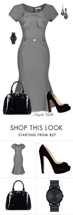 Christian Louboutin, Relaxfeel, Movado and Emilio! Business Outfits, Business Attire, Business Casual, Work Fashion, Fashion Outfits, Womens Fashion, Fashion Black, Dress Fashion, Trendy Fashion