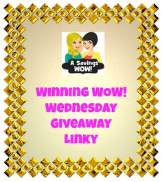 Giveaways winning wow wednesday giveaway linky 2 5 14