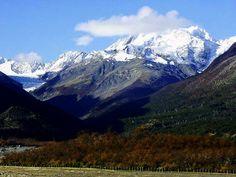 Glacial El Mosco, Villa O´higgins, region de Aysen.