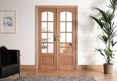 Conjunto de porta francesa Worthing Oak Divider - Lilly is Love Hanging Room Divider Diy, Room Divider Headboard, Small Room Divider, Room Divider Bookcase, Metal Room Divider, Bamboo Room Divider, Room Divider Walls, Living Room Divider, Divider Cabinet