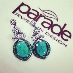 ♥ Introducing #Parade #Design exclusively at #Capri #Jewelers #Arizona ~ http://www.caprijewelersaz.com/Parade/42000001/EN  ♥ 2014 Collection  Our newest Parade in Color earrings featuring 5.62 carats of sumptuous emerald slices! Oh May birthday girls, we truly do envy you! #emeralds #may #birthday #birthstone #birthdaygirl #pretty  #greenwithenvy #earrings #paradedesign #photooftheday #paradeincolor #lucky #wishlist #gift #love #dangleearrings #birthdaygift #2014 #style #jewelry #fashion…