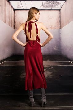 The SUTTER gown in #oxblood // new at #stonecoldfox