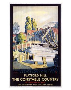 Flatford Mill.
