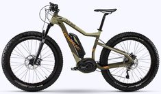 Why have fat bikes only just taken off? The electric bike world has a big part to play, lets explain whilst revealing the new Haibike FatSix 2015 fat eBike! Electric Mountain Bike, Electric Bicycle, Fat Bike, E Mtb, Bike Photo, Cool Bicycles, Super Bikes, Bike Design, Bosch