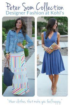 Peter Som Collection Dresses - designer fashion for less at Kohl's #PeterSomforKohls #sponsored