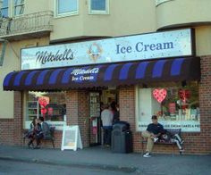 Mitchell's Ice Cream Shop - in the Mission /  Bernal Heights area http://www.mitchellsicecream.com/