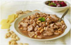 Le Torte di Pezzettiello e non solo...: Pollo con le mandorle al burro di cacao