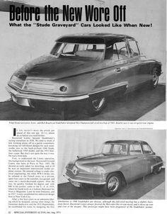 OG  1943 Studebaker Coupé   Full-sized mock-up designed by Raymond Loewy