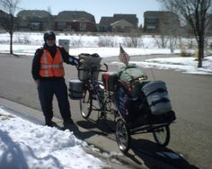 My first bicycle trip from Fort Collins Colorado Cortez Colorado March 2013