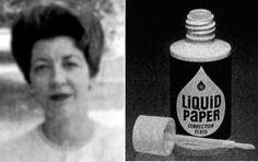 liquid paper inventor Bette nesmith graham (dallas, texas, 23 de marzo de 1924 – richardson, texas, 12 de mayo de 1980) fue una mecanógrafa y artista comercial estadounidense, inventora.