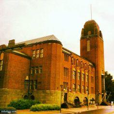 Eliel Saarinen (1873-1950): Joensuun kaupungintalo 1909, 1910-14