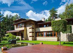 Источник вдохновения — дом Фрэнка Ллойда Райта | Архитектурные проекты | Журнал «Красивые дома»