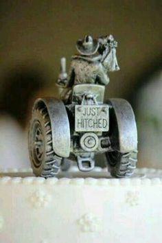 This will be on top of Codey's and my wedding cake! lol too cute
