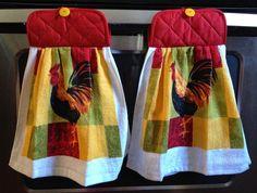 Memories Made by a SAHM: DIY Hanging Dish Towel