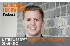 Matthew Barby's Content Focused Growth Strategies