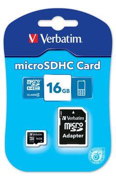 Verbatim Micro SDHC Classe 10 16GB 9,00€
