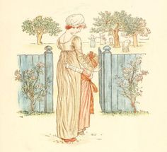 Little Ann, a book by Kate Greenaway 1880