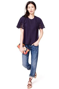 Billowy Sleeves - Cooling Shirt Styles For Summer 2014