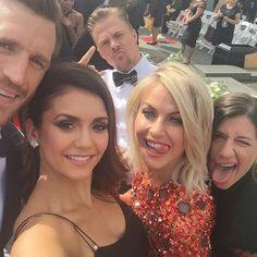 Pin for Later: 18 Times You Wished You Were Friends With Nina Dobrev and Julianne Hough When Nina Basically Became an Honorary Member of the Hough Family With This Epic Selfie