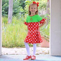8/14/2012 Green & Red Polkadot Hendley Dress
