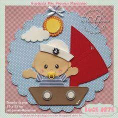 Baby Shawer, Felt Baby, Diy And Crafts, Crafts For Kids, Paper Crafts, Scrapbook Bebe, Baby Frame, Baby Album, Frame Crafts