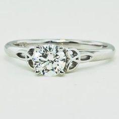 Brilliant Earth beautiful Celtic design! My favorite ring I've seen so far!