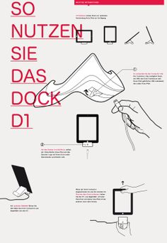 How To Use - Dock D1 for iPad 4th generation - German