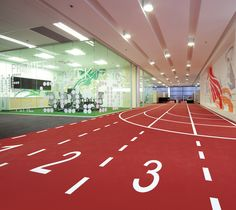 THERE Design  Environmental graphics  http://there.com.au/work/Asics_Office
