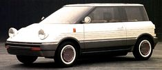 """Toyota Y-1 Palette Concept, 1983. Toyota's recent e-Palette concept actually revives a name the was originally used for this prototype """"youth-oriented"""" hatchback from the 1980s"""