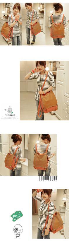 envío gratis de lona de moda mochilas lindo para las niñas de la mujer casual bolsas de mensajero