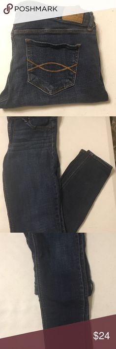 🌻ABERCROMBIE & FITCH JEANS🌻 8R 29x29 Good Condition Abercrombie & Fitch Jeans Straight Leg