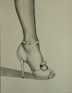Dessin pied