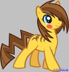 pokemon my little pony | How to Draw Pikachu Pony, Pokemon, Step by Step, Pokemon Characters ...
