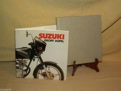 SUZUKI BY GEOFF ASPEL ARCO PUBLISHING COPY 1984 HC/DJ DIRT BIKE MOTORCYCLE RACE
