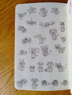 Thumb print animals