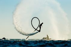 Cruise Critic tries flyboarding -- where normal people strap on jet packs to soar high above the water like superheroes -- on St. Thomas.